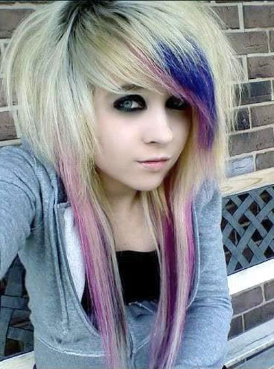 50 Cool Ways to Rock Scene & Emo Hairstyles for Girls