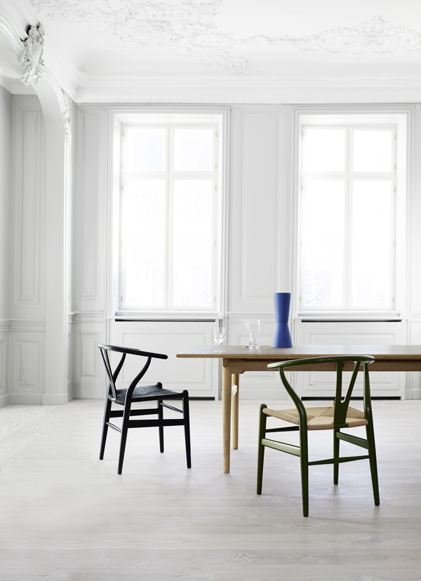CARL HANSEN  SONS RELAUNCHES CH23 BY HANS J WEGNER