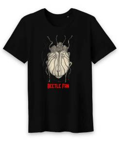 Beetle Fan Heren T-shirt Met Ronde Hals 100% Biologisch Katoen
