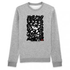Darkness Organisch Unisex-Sweatshirt