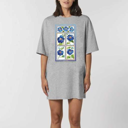 Printemps Dames Oversized T-Shirt Jurk - Biologisch katoen