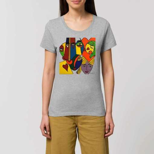 Just Wow Dames T-shirt - 100% Biologisch Katoen