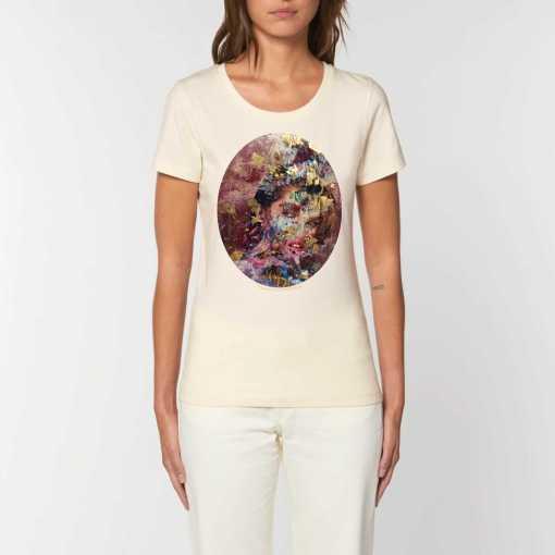 Gold Fakes Dames T-shirt - 100% Biologisch Katoen