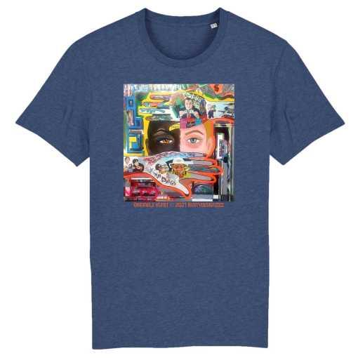 Life Is Beautiful Unisex T-Shirt - 100% Biologisch Katoen