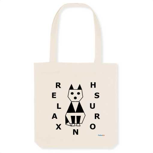 Relaxed Cat Eco Totebag
