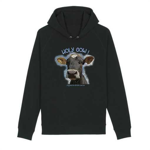 Holy Cow Organisch Unisex Hoodie