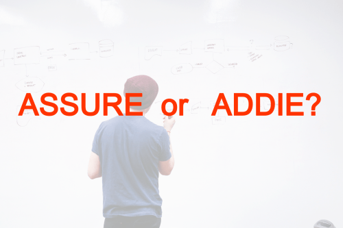 small resolution of is the addie framework better than the assure model