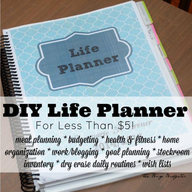 DIY Life Planner