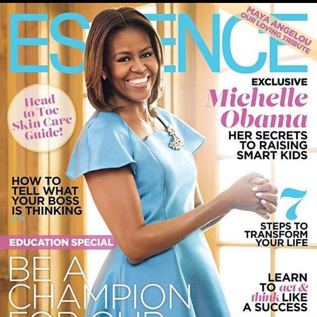 Michelle Obama Essence Cover