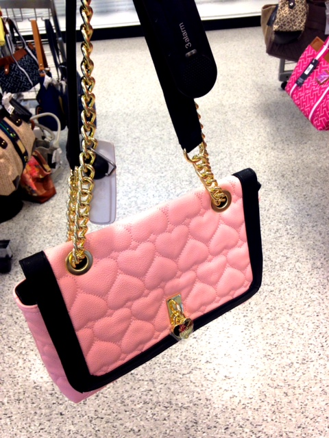 Pink Betsey Johnson Handbag
