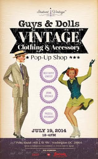 Guys & Dolls Vintage Pop-Up Shop