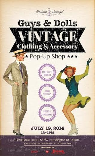 Guys & Dolls Vintage Pop-Up Shop