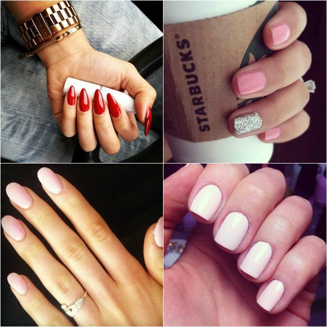 Manicure How To  Nail Shape Trends
