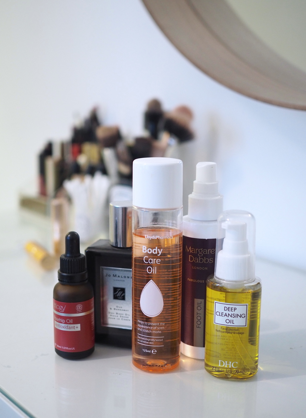 MY ULTIMATE HEAD-TO-TOE BEAUTY OIL LINE UP