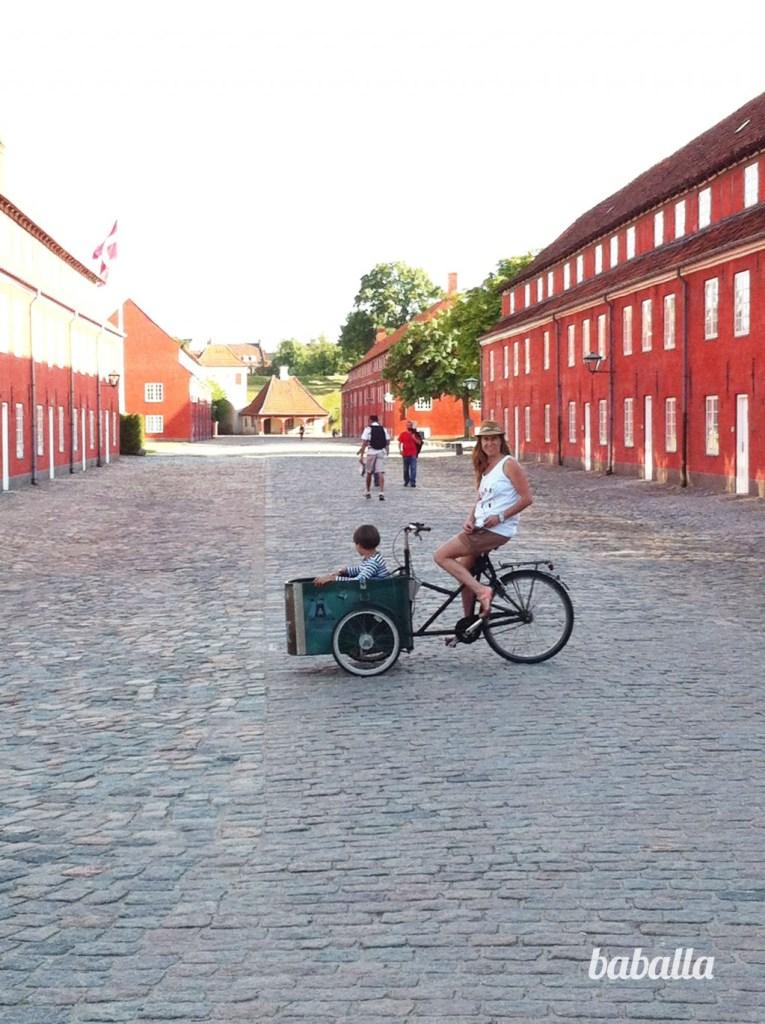 Kastellet Copenhague con niños baballa