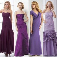 Purple bridesmaid dresses hot styles 2015 bridesmaid ...