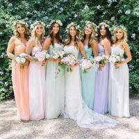 Lauren Conrad designed bridesmaid dresses for her ...