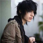 cool emo hairstyles men