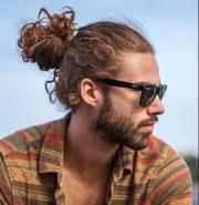 lovable man bun hairstyle ideas