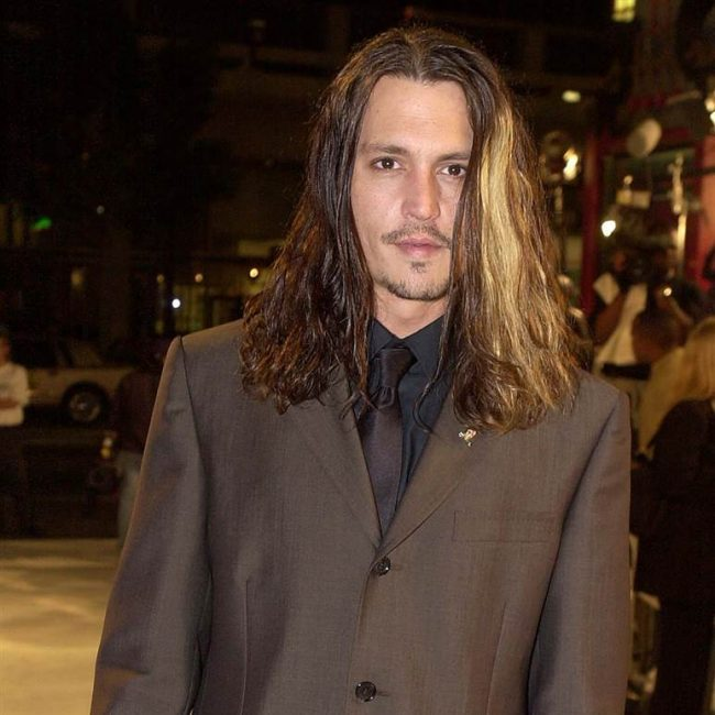 30 Appealing Johnny Depp Long Hair Ideas The Perfect