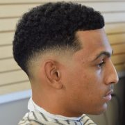 classy afro taper haircuts