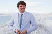 Skinny White Tie