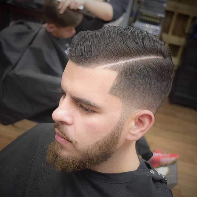 White Dude Fade Haircut Hairs Picture Gallery