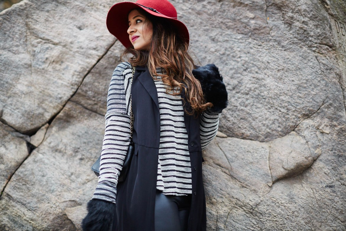 classic-combination-black-red-hat-toryburch-mendocino-clubmonaco-hnm-vest-zara-4