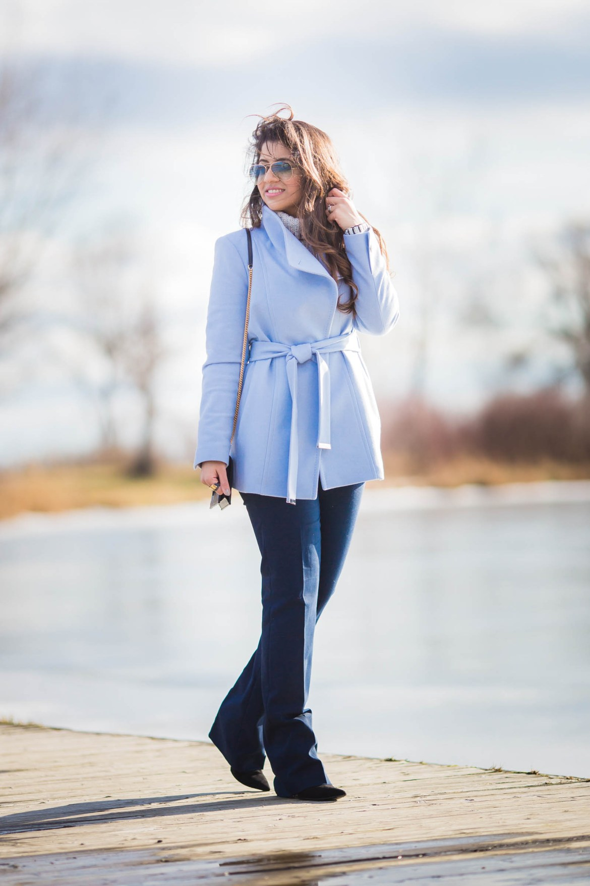 sky-blue-pea-coat-ted-baker-ysl-zara-wide-leg-pants-ray-ben-cold-spring-fashion-blogger-stylist-4