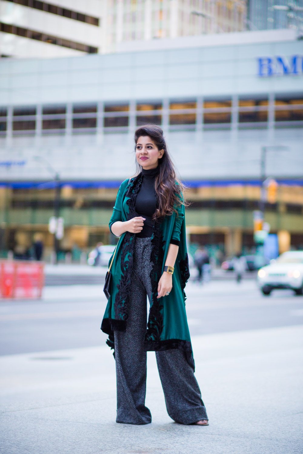green-cape-allena-fareena-pakistani-fusion-eastern-western-wide-leg-pants-zara-ysl-black-1