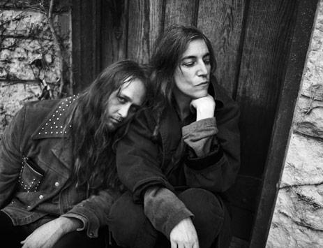 Patti Smith and Steve Sebring