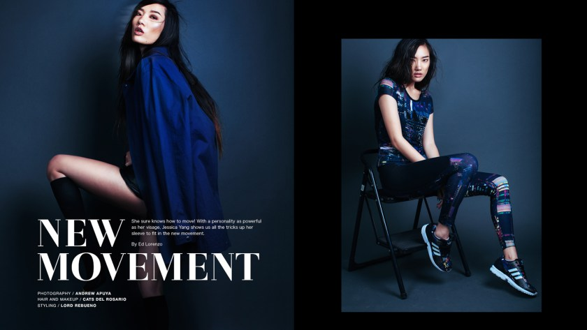 MODEL FEATURE: JESSICA YANG IS ON A NEW MOVEMENT