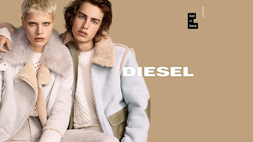 DIESEL FEATURED DIVERSE MODELS IN LATEST FW 2016 CAMPAIGN