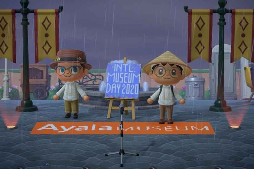 AYALA MUSEUM SET UP AN EXCLUSIVE VIRTUAL EXHIBIT USING ANIMAL CROSSING: NEW HORIZONS