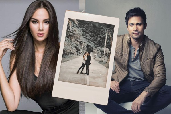 IT'S OFFICIAL MISS UNIVERSE 2018 CATRIONA GRAY AND SAM MILBY ARE DATING