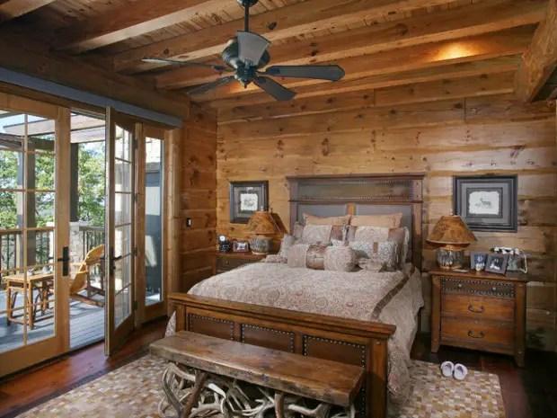 17 Cozy Rustic Bedroom Design Ideas