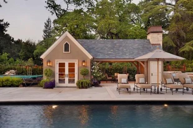 22 Fantastic Pool House Design Ideas