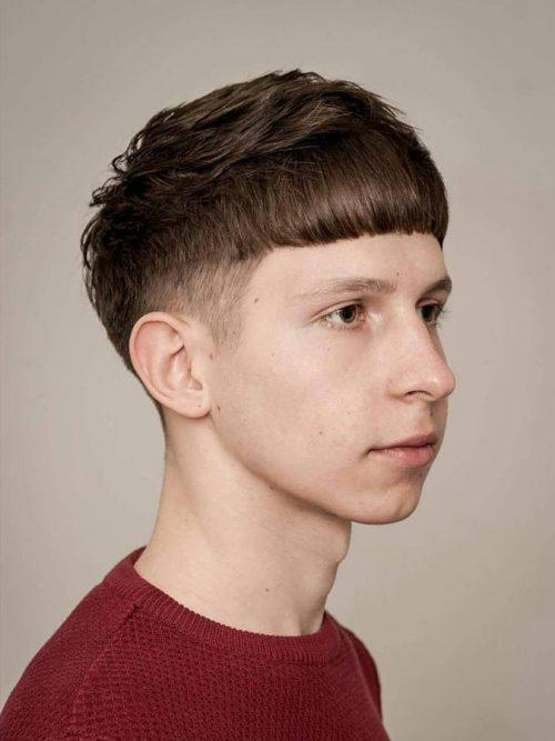 30 Hairstyles With Front Cowlick Boys Hairstyles Ideas