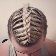 interesting men braids