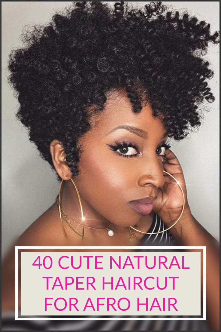 40 Stylish And Natural Taper Haircut Stylendesigns