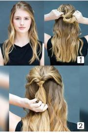 easy hairstyles women