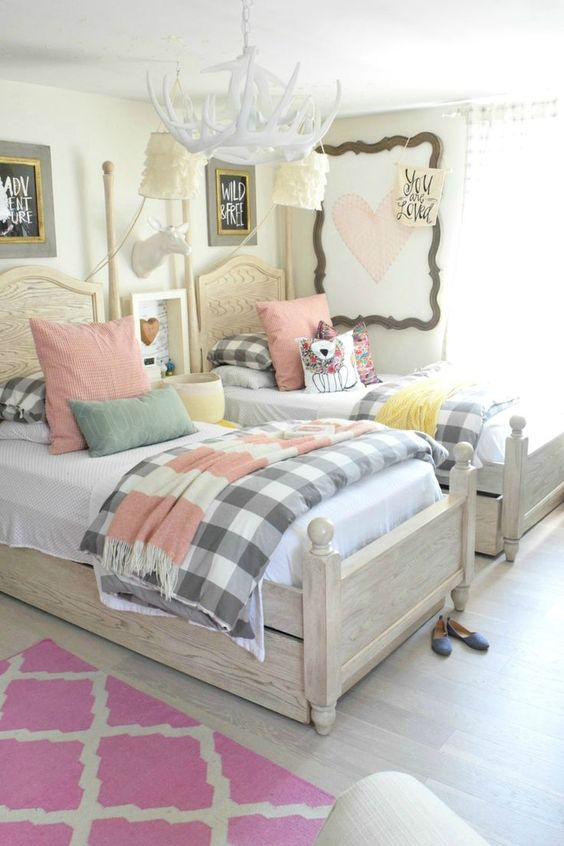 Extremely Wonderful Cute Bedroom Ideas for Girls  Stylendesigns