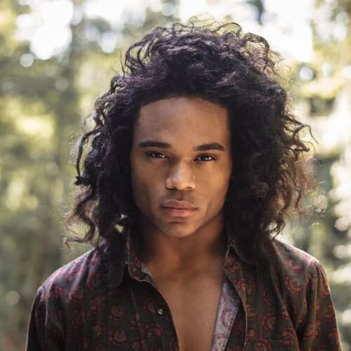 Popular Curly Hairstyles For Black Men Stylendesigns