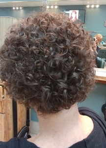 PERMANENT WAVE  SPIRAL PERM  Curly Hair  SALON SERVICES