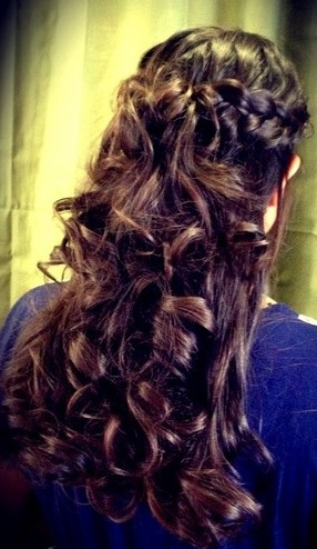 Spiral Hair Perm Long Curly Hair Hair Salon SERVICES