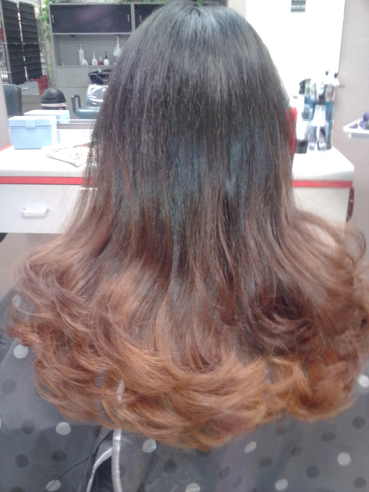 Body Wave Perm Wavy Hair Hair Salon SERVICES Best