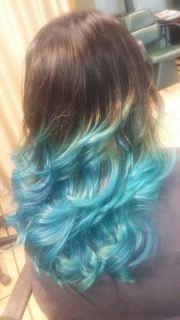 exotic - vivid hair colors fashions