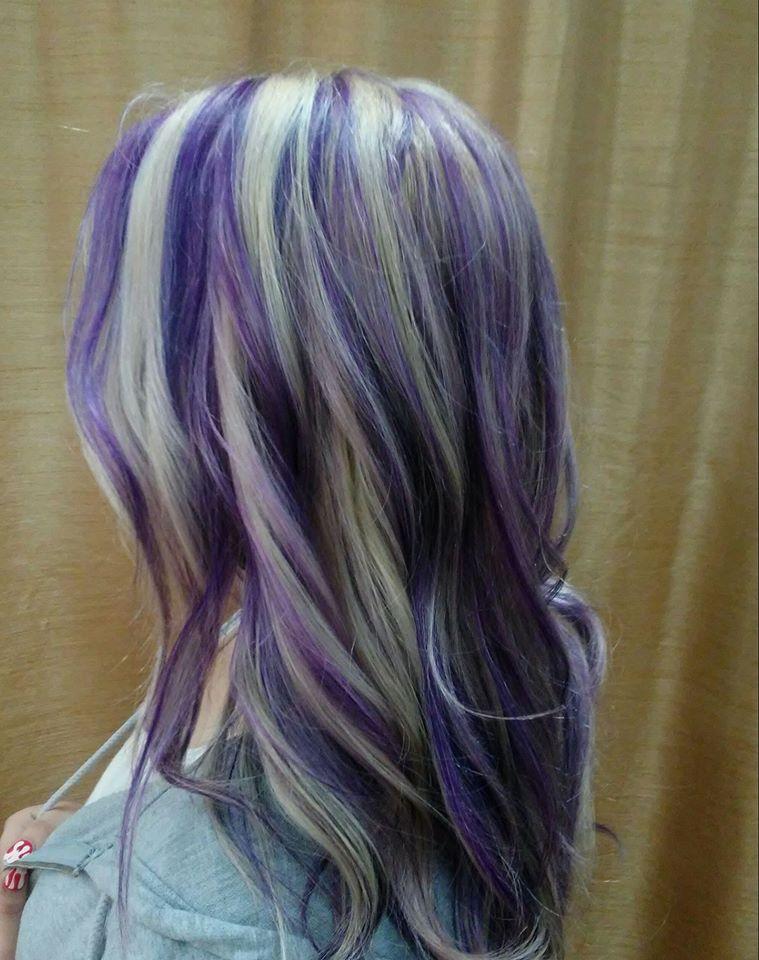 EXOTIC VIVID HAIR COLORS FASHIONS Hair Salon