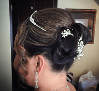 wedding hair services bridal hairstyle updo services ...