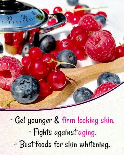 Berries for Skin Whitening
